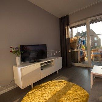 Ferienwohnung Kleiner Sundblick Lemkenhafen Wohnzimmer