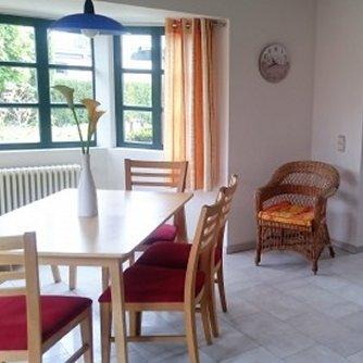 Ferienhaus ND3-131 Niendorf Essbereich