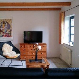 Ferienhaus ND3-131 Niendorf Wohnzimmer