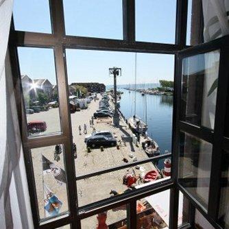 Ferienwohnung Hafenblick 6 Orth