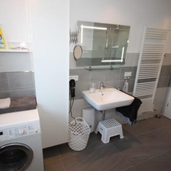 Ferienwohnung Lieblingsort(h) Orth Badezimmer