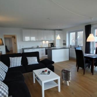 Ferienwohnung Lieblingsort(h) Orth Wohnzimmer