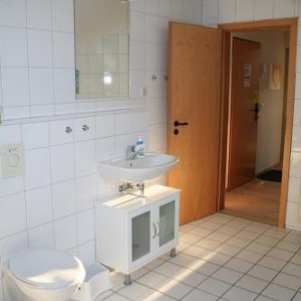 Ferienwohnung OR3-108 Orth Badezimmer