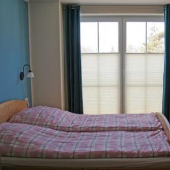 Ferienwohnung OR3-108 Orth Schlafzimmer