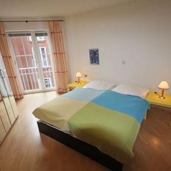 Ferienwohnung OR3-540 Orth Schlafzimmer 1