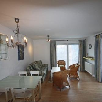 Ferienwohnung OR3-540 Orth Wohnzimmer
