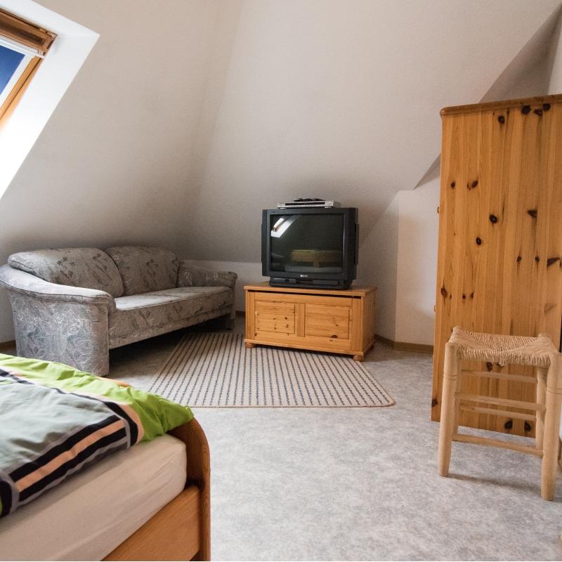 Fewo Ankerplatz, kleines Schlafzimmer