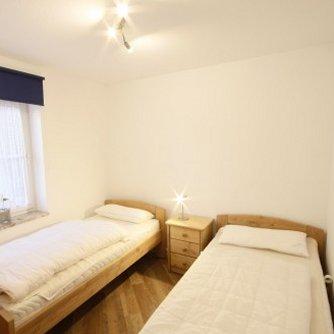 Ferienwohnung Bunte Kuh Petersdorf Schlafzimmer 2