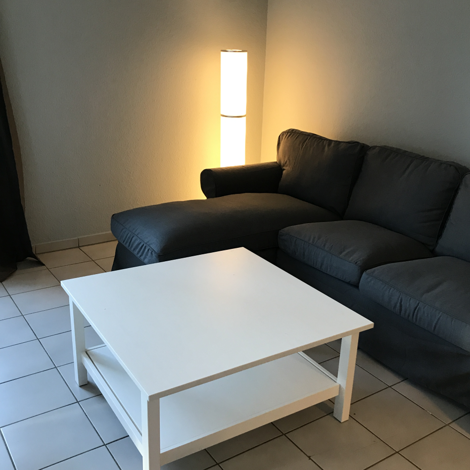 Sitzecke mit Recamiere