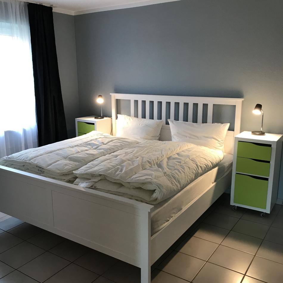 Fehmarnsund Schlafzimmer 1