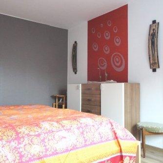 Ferienwohnung Gode Tied Petersdorf Schlafzimmer