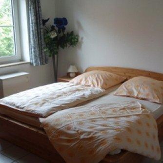 Ferienwohnung Kapitäns-Kajüte Petersdorf Schlafzimmer 1