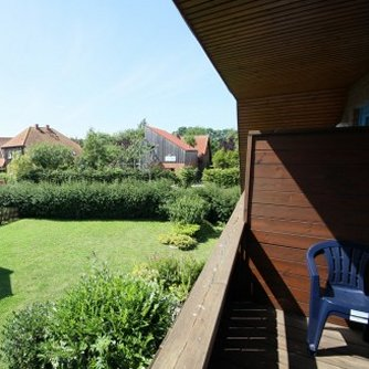 Ferienwohnung KH3-012 Petersdorf Balkon