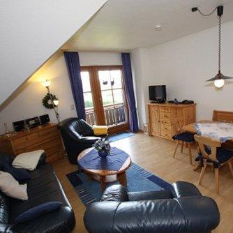 Ferienwohnung KH3-012 Petersdorf Wohnzimmer