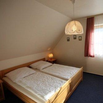 Ferienwohnung Überblick Petersdorf Schlafzimmer 1