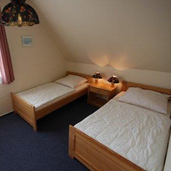 Ferienwohnung Überblick Petersdorf Schlafzimmer 2
