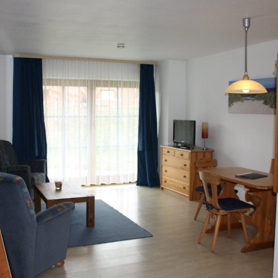 Ferienwohnung KH3-121 Petersdorf Wohnzimmer