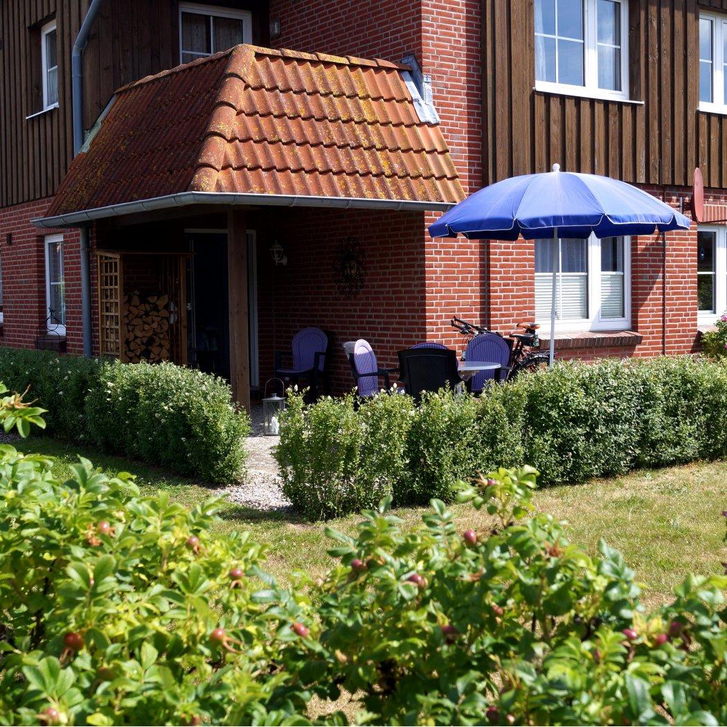 Ferienwohnung Marcus, Fehmarn - Gartenterrasse