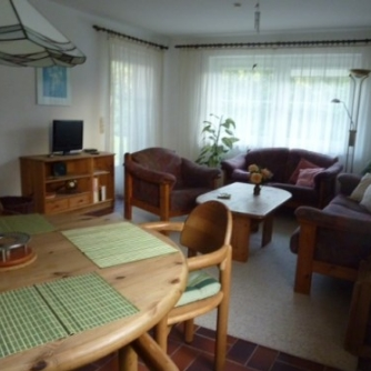 Ferienwohnung Stephan Petersdorf Wohnzimmer