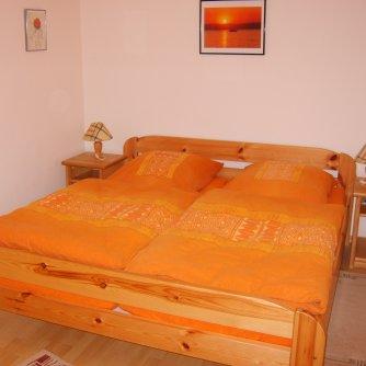 Ferienwohnung Windlicht Petersdorf Schlafzimmer 1