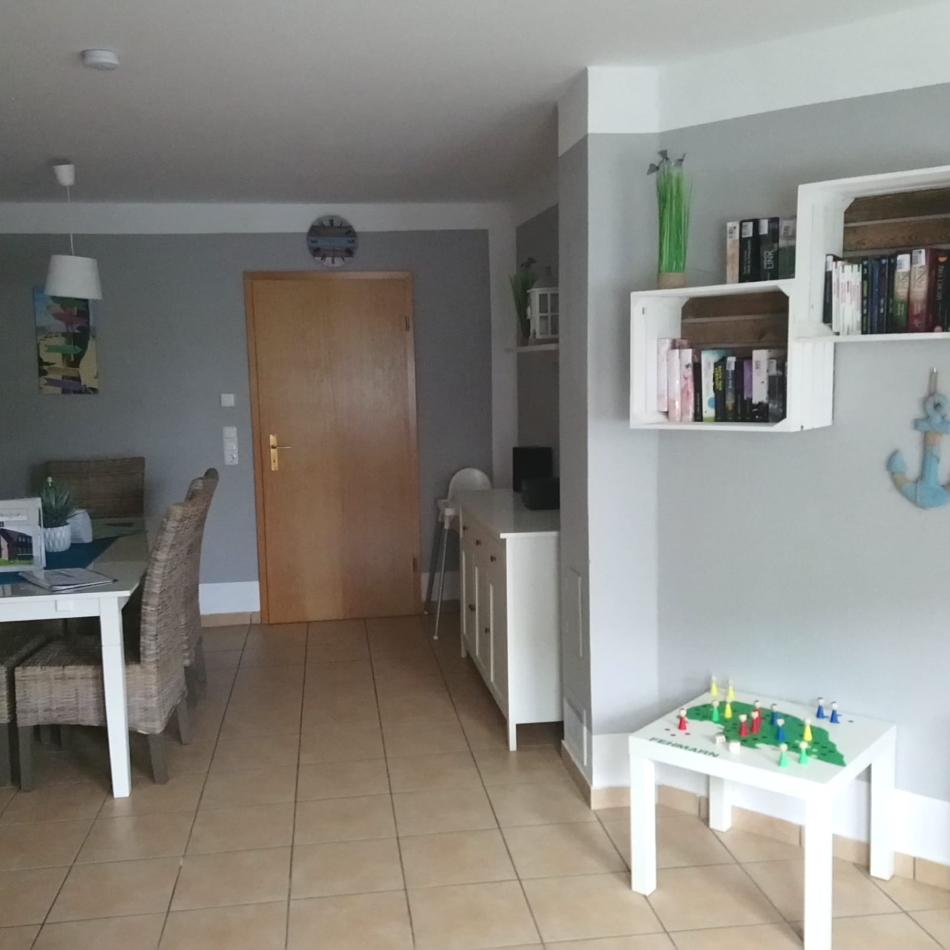 Eingang Wohnzimmer / Essecke