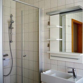 Ferienwohnung Hygge Wenkendorf Badezimmer