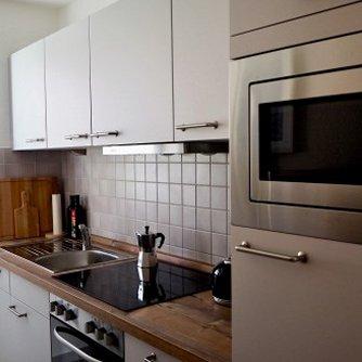 Ferienwohnung Hygge Wenkendorf Küche