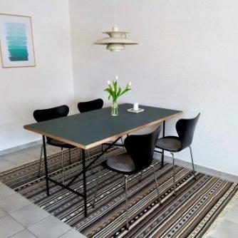 Ferienwohnung Hygge Wenkendorf Wohnzimmer