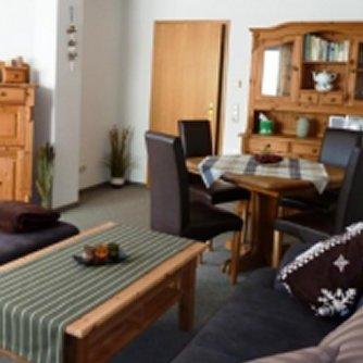 Ferienwohnung Schwalbennest Wenkendorf Wohnzimmer