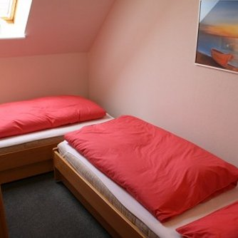 Ferienwohnung Sonne & Meer Wulfen Schlafzimmer 1