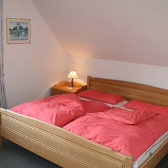 Ferienwohnung Sonne & Meer Wulfen Schlafzimmer 2